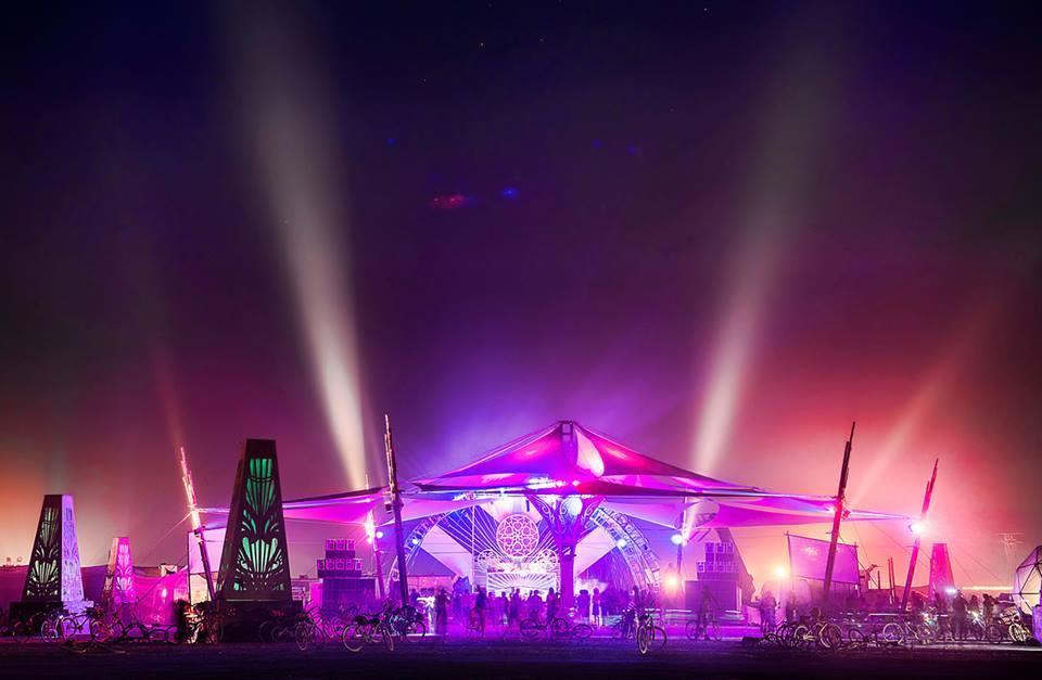 Stage Design - Fractal Planet - Burning Man, NV
