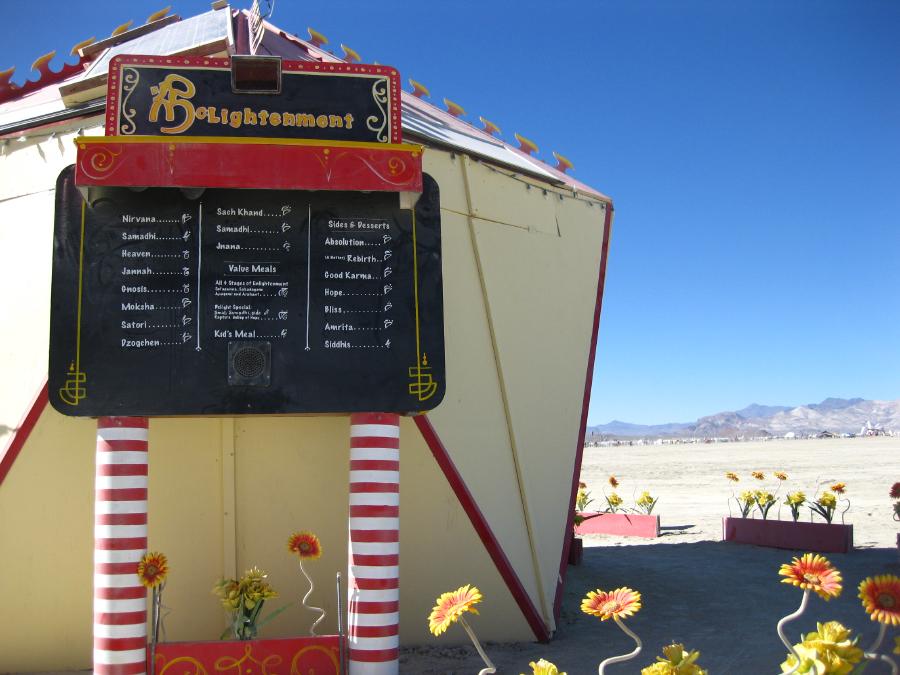 McLightenment - Honorarium Art Project - Burning Man, NV