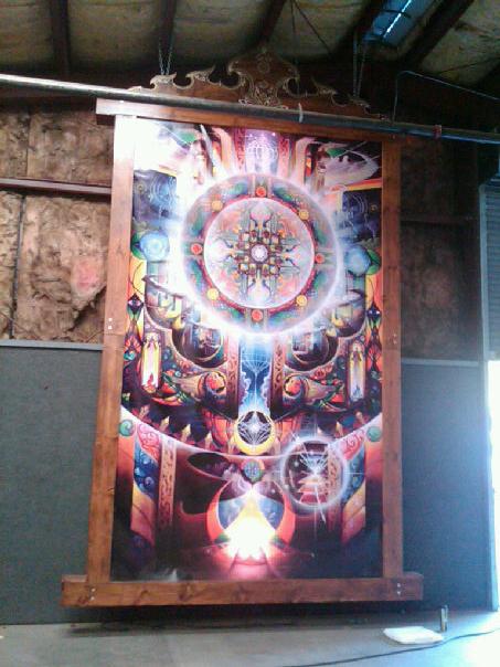 Floating Lightbox - High Sierra Music Festival - Quincy, CA